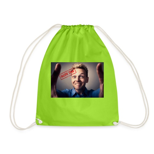 Selfy time - Drawstring Bag