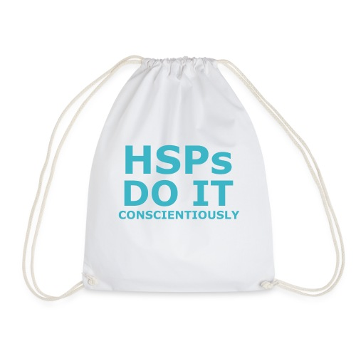 Do It hsPs women's t-shirt - Drawstring Bag