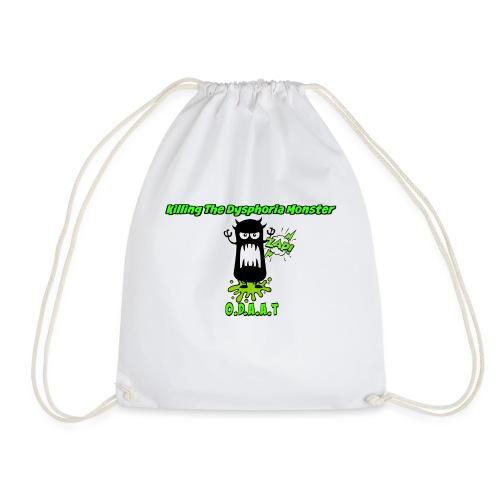 The Dysphoria Monster - Drawstring Bag