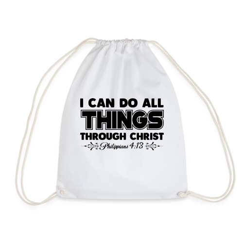 I Can Do All Things - Drawstring Bag