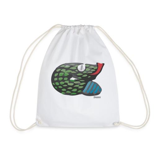 Aztec Snake - Drawstring Bag