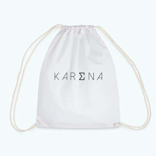karena logo - Drawstring Bag