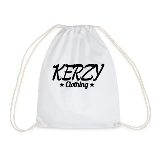 Official KerzyClothing T-Shirt Black Edition - Drawstring Bag