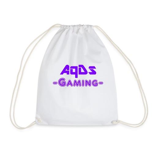 AqDsGaming Purple Hat - Drawstring Bag