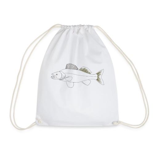 Zielfisch Zander - Turnbeutel