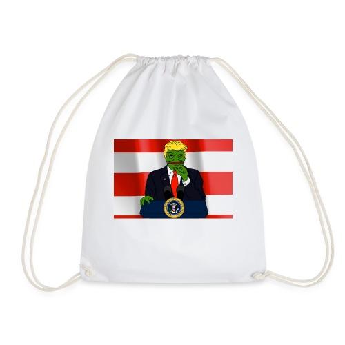Pepe Trump - Drawstring Bag