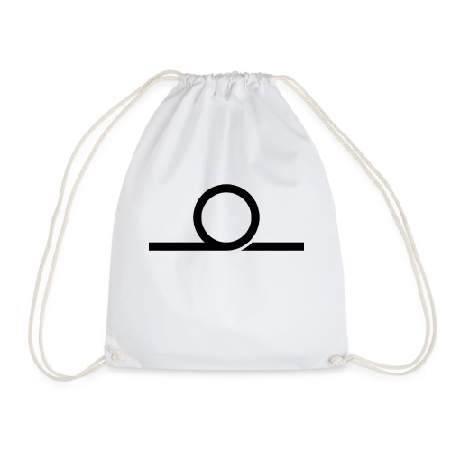 WHEEL LONG png - Drawstring Bag