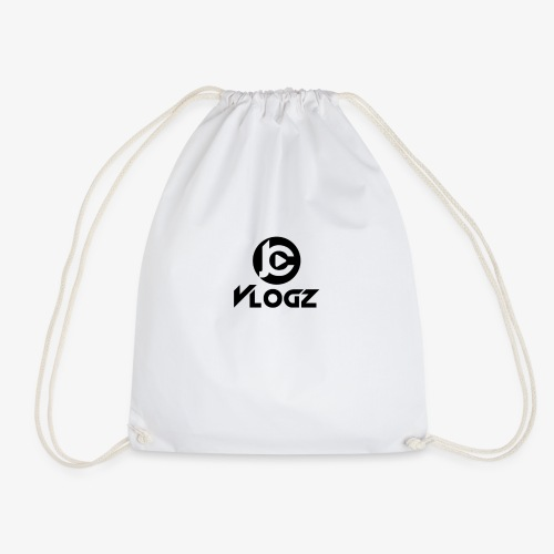 JC Vlogz Logo - Drawstring Bag