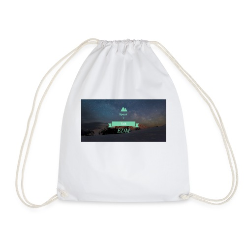Speak Brand Logo - Drawstring Bag