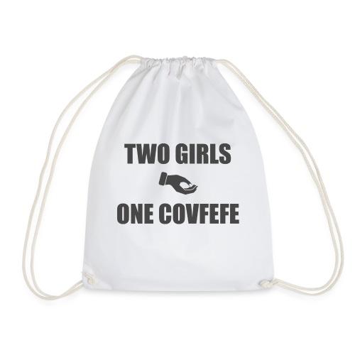 What the covfefe? - Drawstring Bag