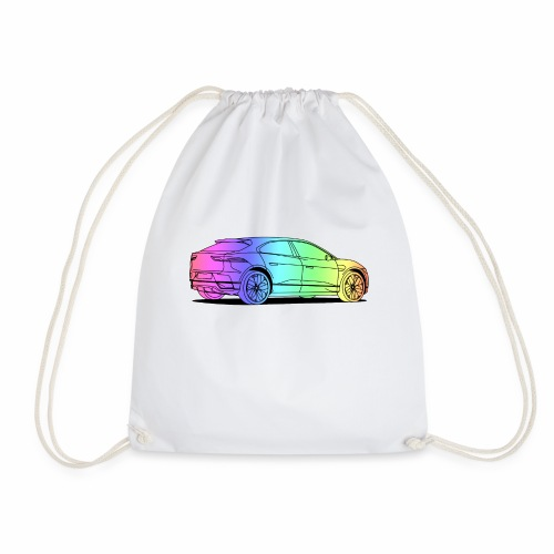 jag colourful - Drawstring Bag