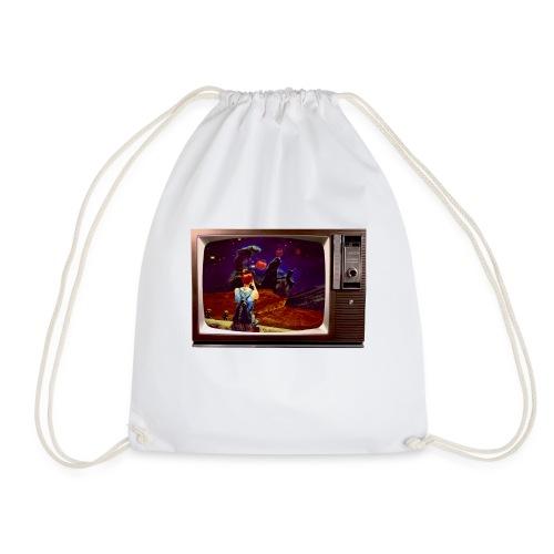 Week 2 Spacemullach smaller - Drawstring Bag