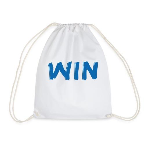 Win / Gewinner / T-Shirt - Turnbeutel