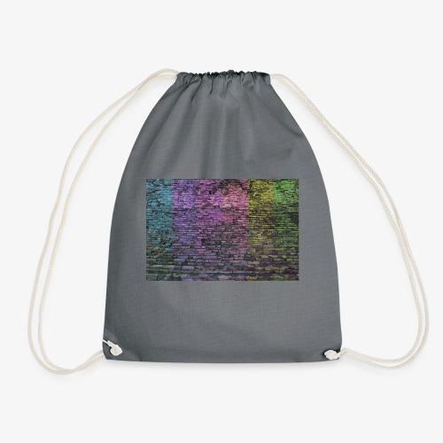 Regenbogenwand - Turnbeutel