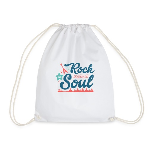 Rock Heals The Soul - Drawstring Bag