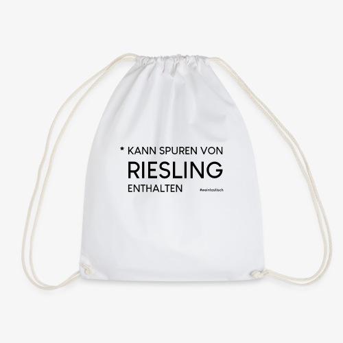 Kann spuren von Riesling enthalten - Turnbeutel