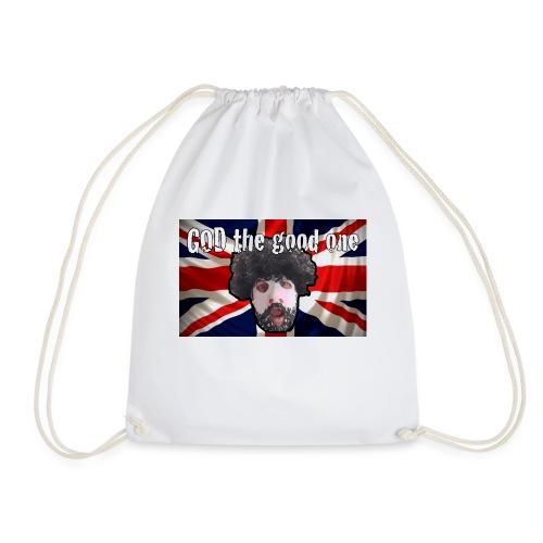 God the good one union Jack - Drawstring Bag