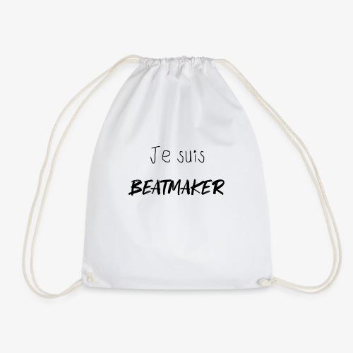 Je suis BEATMAKER (black) - Sac de sport léger