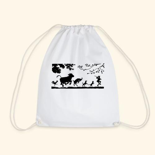 animales caminando - Mochila saco