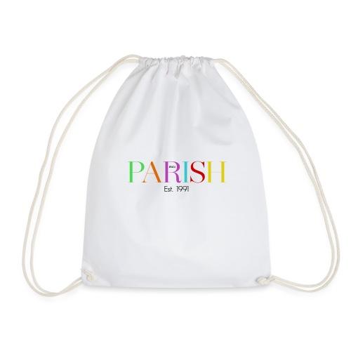 Jessica Parish Color-Schriftzug - Turnbeutel