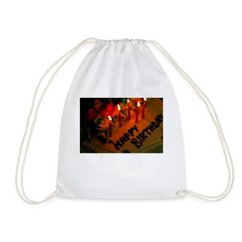 happy Birthday - Drawstring Bag