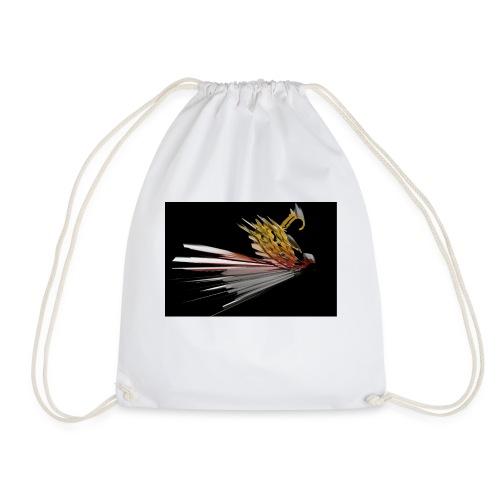 Abstract Bird - Drawstring Bag