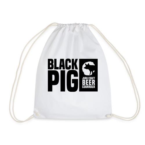 BlackPig Horizontal Noir - Sac de sport léger