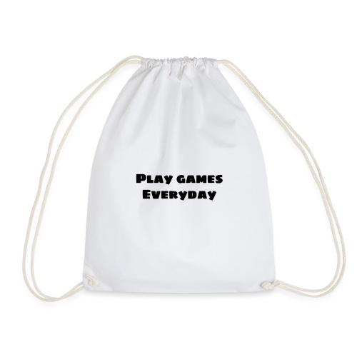play games - Drawstring Bag