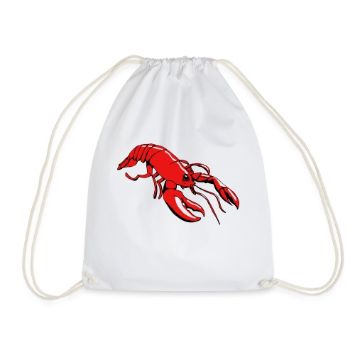 Lobster - Drawstring Bag