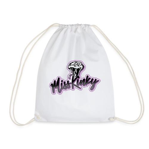 Logo Miss Kinky violet - Sac de sport léger