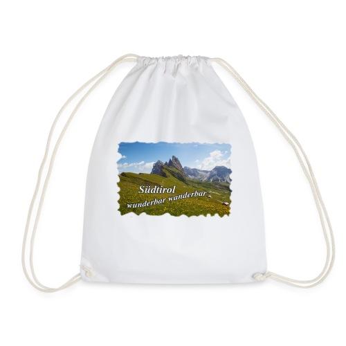 Südtirol - wunderbar wanderbar - Turnbeutel