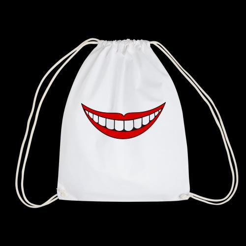 Big Smile Schutzmaske - Turnbeutel
