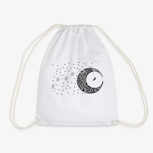 Dream your routes - Drawstring Bag