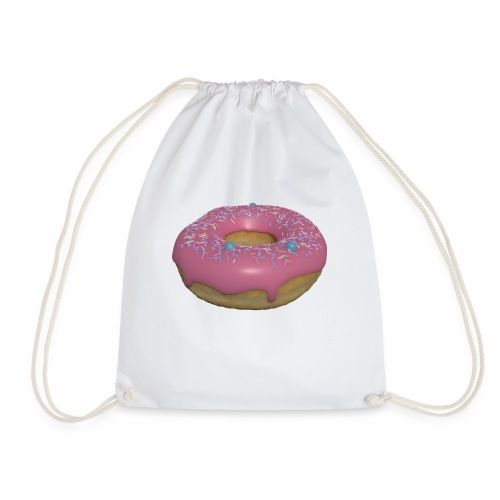Tasty Donut - Drawstring Bag