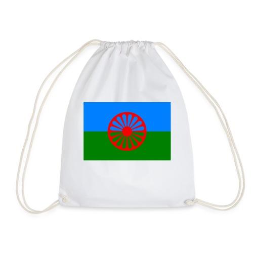 Flag of the Romani people - Gymnastikpåse
