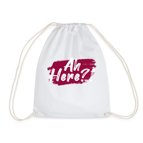 Ah here!? - Drawstring Bag