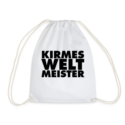 kirmes-welt-meister - Turnbeutel