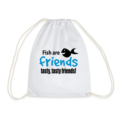 Fisk er venner - Gymbag