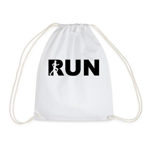 run running woman - Turnbeutel
