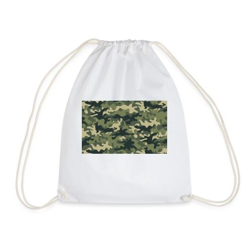 Camouflage texture vert - Sac de sport léger