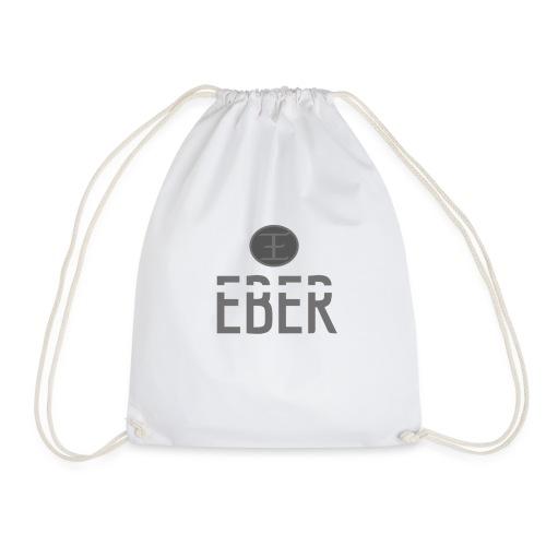 EBER: T-Shirt - White - Gymnastikpåse