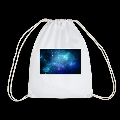 Blue galaxy wallpaper 31677 - Gymnastikpåse