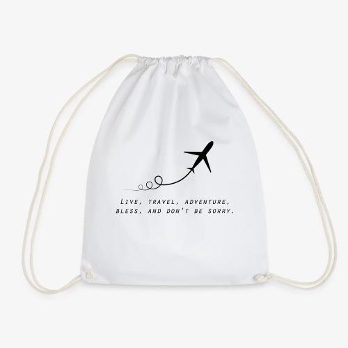 Travel Quotes 2 - Drawstring Bag