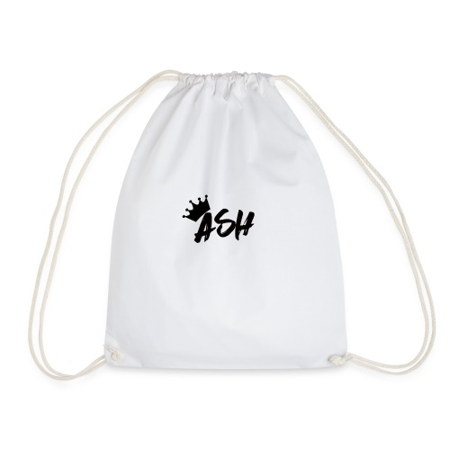 Ash Gautam T-SHIRT//YOUTUBE MERCHANDISE - Drawstring Bag