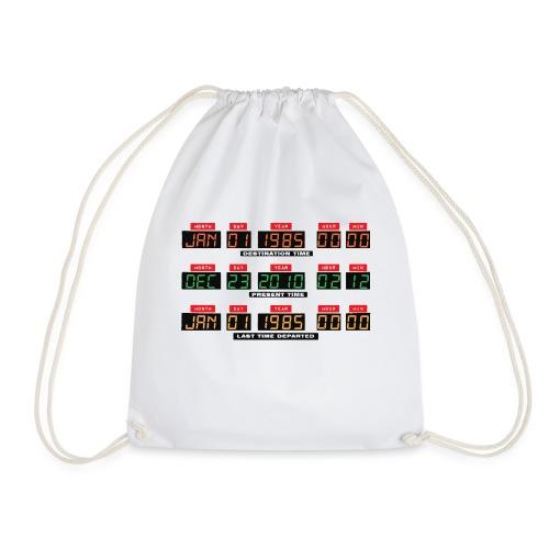 Back To The Future DeLorean Time Travel Console - Drawstring Bag