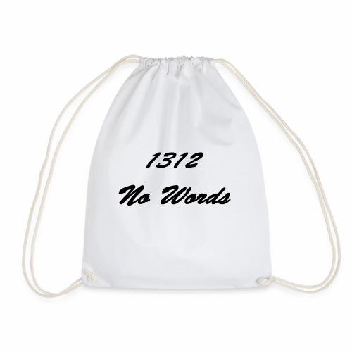 1312 No Words - Turnbeutel