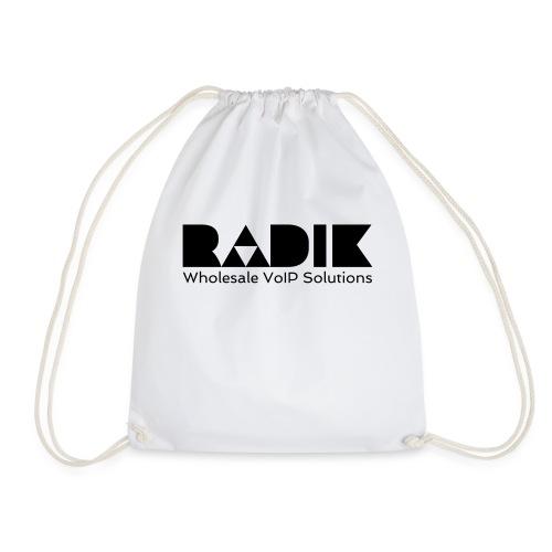 radik logo 1kleur wholesalevoipsolutions - Gymtas