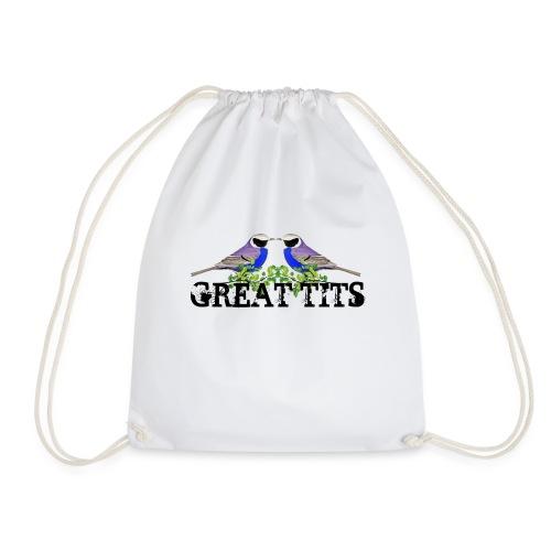 Great tits - Sportstaske