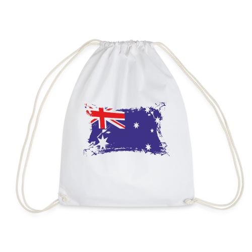 Australian Flag / Flagge Australien / Australia - Turnbeutel