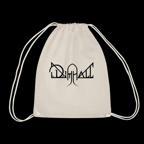 Dimhall Black - Drawstring Bag